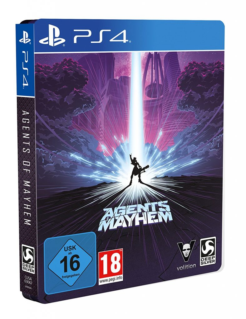 Agents of Mayhem (Steel-Edition)