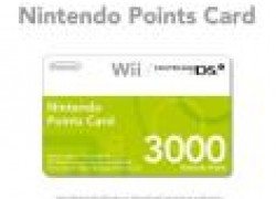 Nintendo Points Card 3000 für 15,66€