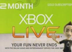 12 Monate Xbox Live Gold für ca. 30€