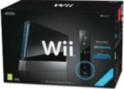 Wii Konsole (schwarz) + Wii Sports, Wii Sports Resort und Wii Motion Plus für 118,70