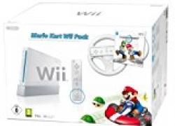 Wii: Nintendo Wii Konsole inkl. Mario Kart, Mario Wheel und Remote Plus für nur 119,47€