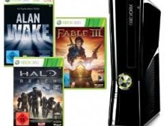 [Deal der Woche] Xbox360 Slim 250GB + Alan Wake, Halo Reach und Fable III (DLCs) für nur 199,97€ + 5€ Versand