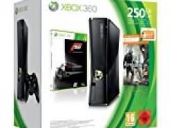 [Aktion] Xbox360 250 GB, schwarz matt inkl. Forza 3 + Crysis 2 + Forza 4 für 258,90 €