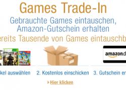 Neu bei Amazon: Games Trade-In – Spiele einsenden, Gutschein sichern
