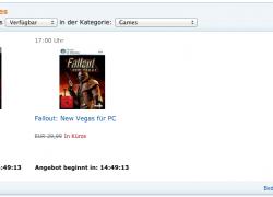 Amazon Blitzangebot des Tages 31.07.2011
