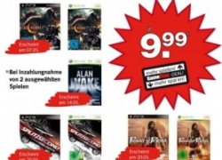 Neue PS3 & 360 Trade-in Aktion bei GameStop: Top Hits wie Split Seconds, Alan Wake oder Red Dead Redemption für je 9,99€