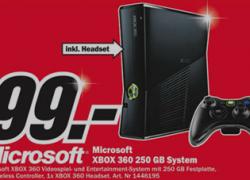 [Lokal] Xbox360 250MB für nur 99€ im MediaMarkt Bremen Waterfront