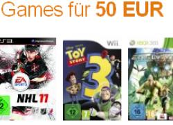 Amazon vs. Saturn: 3 Games für 50€