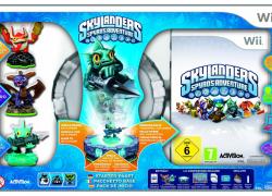 Wii: Skylanders: Spyro's Adventure – Starter Pack inkl. 3 Figuren für 35,00€