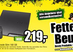 PS3: PlayStation 3 160GB für nur 219€ bei ProMarkt