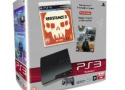 Aktion: PS3 320GB Slim inkl. Resistance 3, Battle L.A. oder Virtua Tennis + Spiel nach Wahl für 272,94€