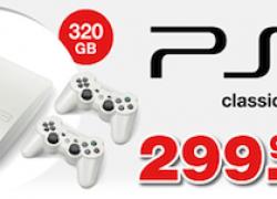 [Pre-Order] Weisse PlayStation 3 Slim 320GB für 299€ bei GameStop vorbestellen