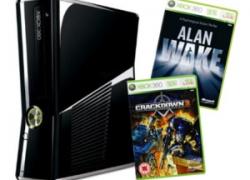 [UPDATE] Xbox 360 S 250GB (oder 4GB) inkl. Alan Wake & Crackdown 2 + ein weiteres Spiel (Fallout New Vegas, Die Sims 3, Fifa 11) für 248,37€ inkl. Versand