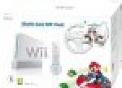 Wii. Nintendo Wii Mario Kart Pack inkl. Mario Kart, Wii Wheel, Remote Plus Controller, weiß für 149,99€