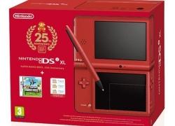 Nintendo DSi XL Jubiläums-Edition: Rote Konsole inklusive New Super Mario Bros. für 189,99€ inkl. Versand